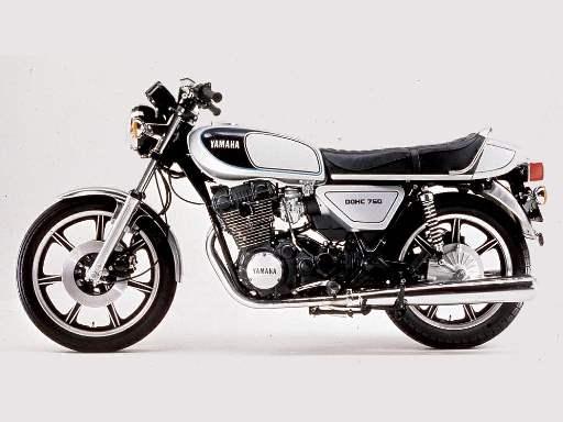 Yamaha XS750 76